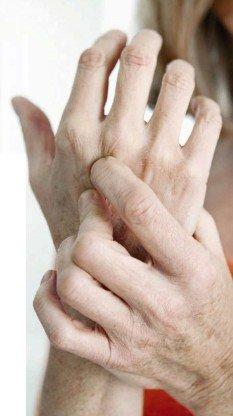 страшная боль артрита