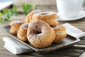 жирные пончики