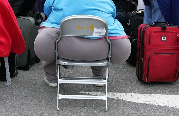 жирный зад