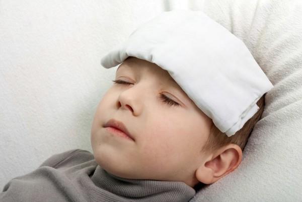 компресс у ребенка