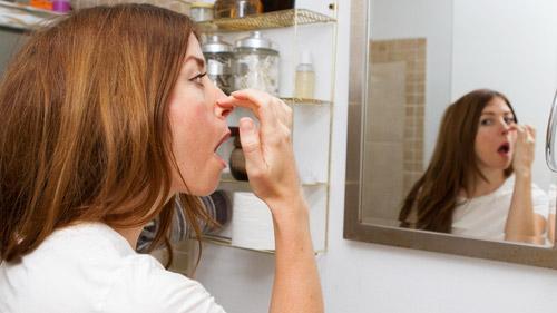 Прыщи внутри носа