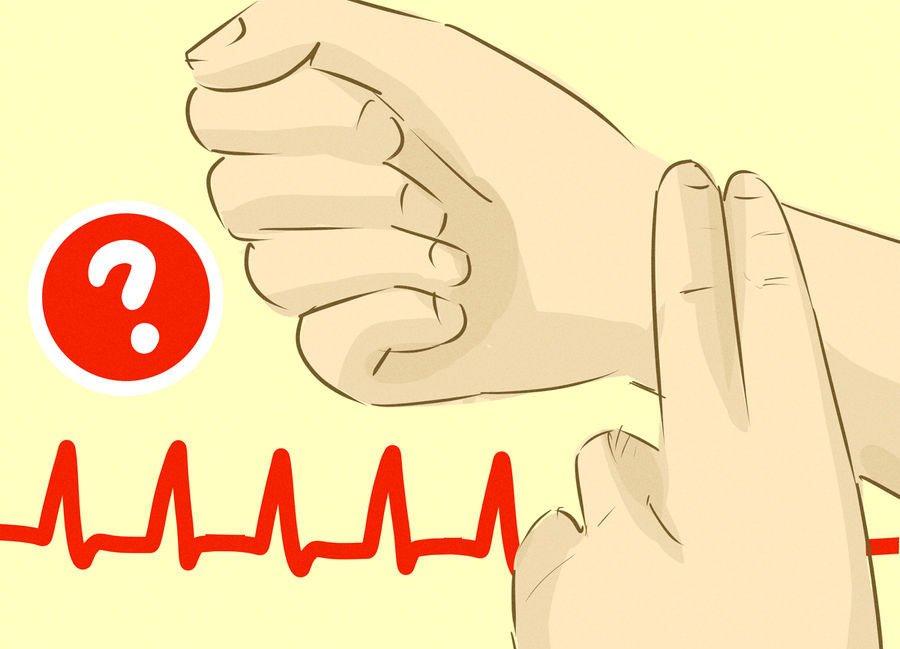 как мерить пульс 5