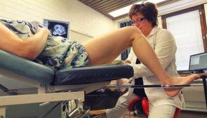 гинеколог в кабинете