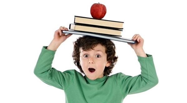 мальчик с яблоком на голове