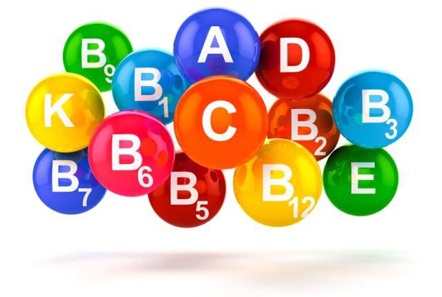 буквы витаминов