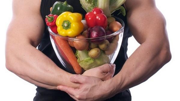 бодибилдер - вегетарианец