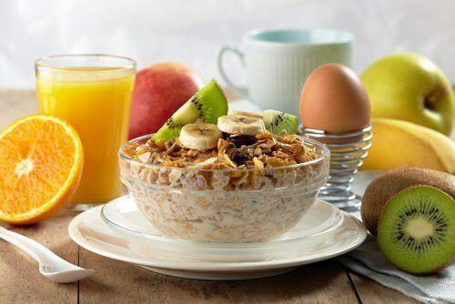 очень здоровый завтрак