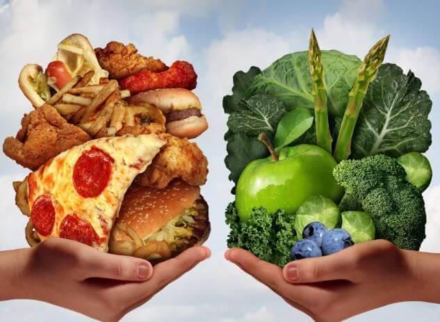 пища, которую едите
