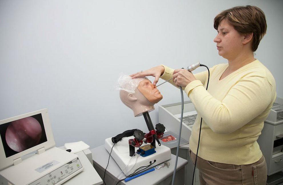 Эндоскопическое удаление кист гайморовых полостей