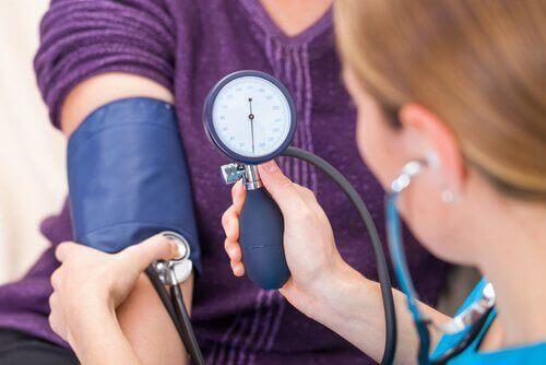 Изменения кровяного давления