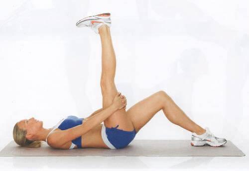 Упражнения на растягивание