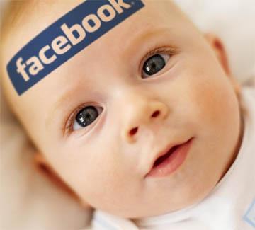 ребенок и facebook