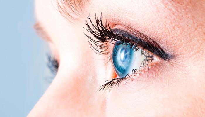 глаза профиль