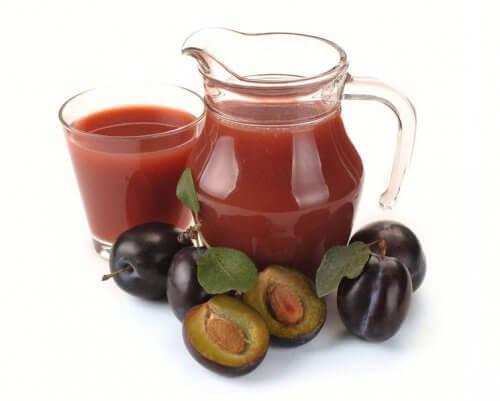 Сливово-яблочный сок
