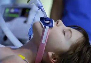 у мальчика астма