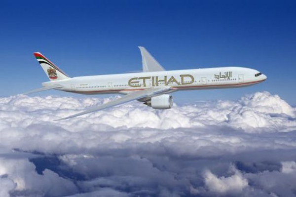 Самолет компании Etihad Airways