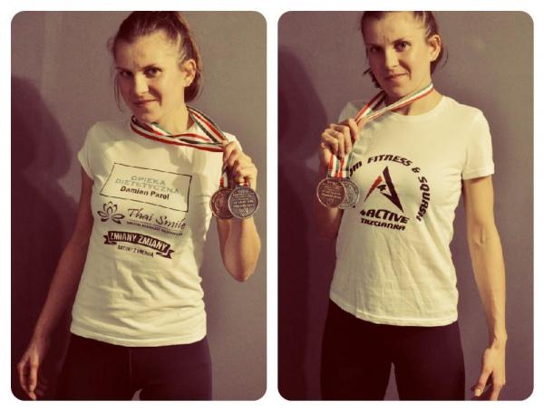 Польская чемпионка по муай тай