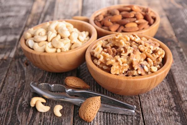 разные орехи