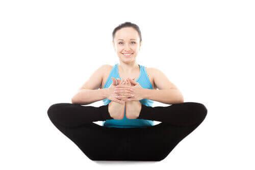 Позы йоги для лодыжек