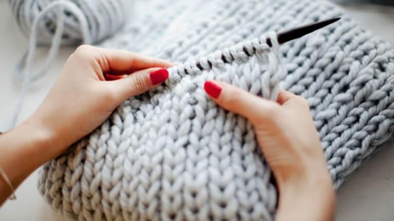 Вязание расслабляет