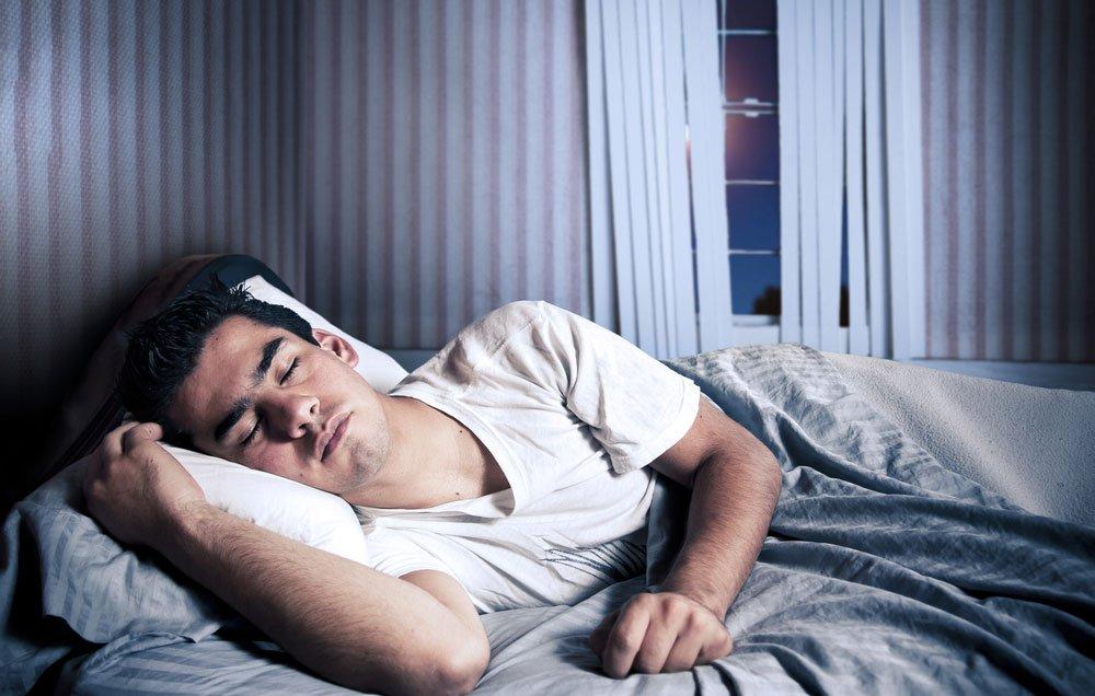 Самочувствие зависит от позы во время сна