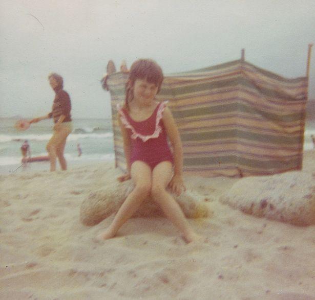 Лаура Джеймс в детстве