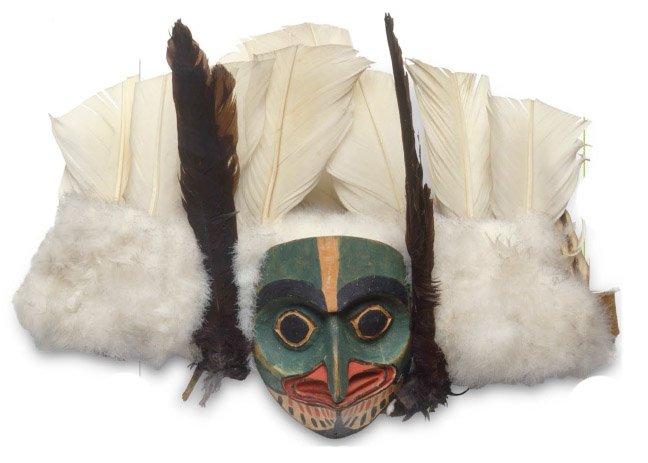 Маска северозападного индейского шамана.