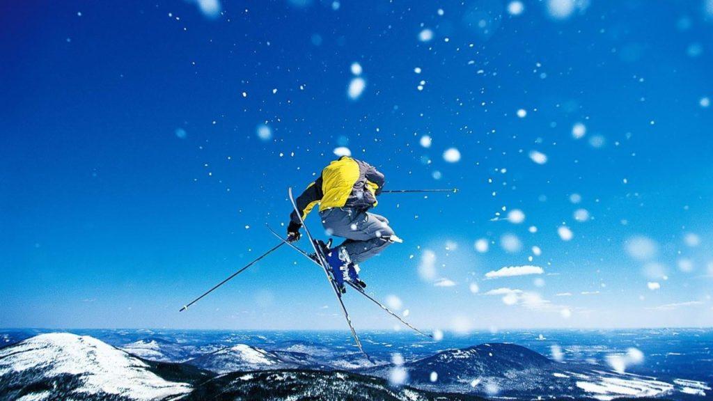 экстрим горные лыжи