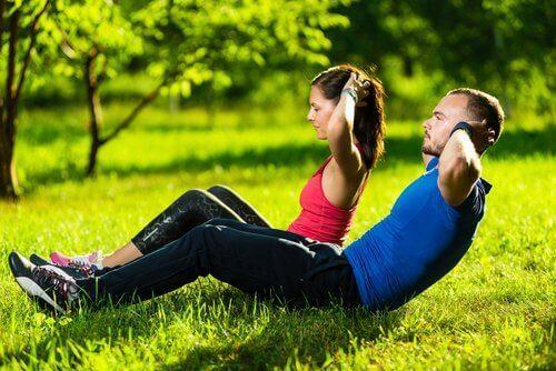 Упражнение на укрепление верхней части тела
