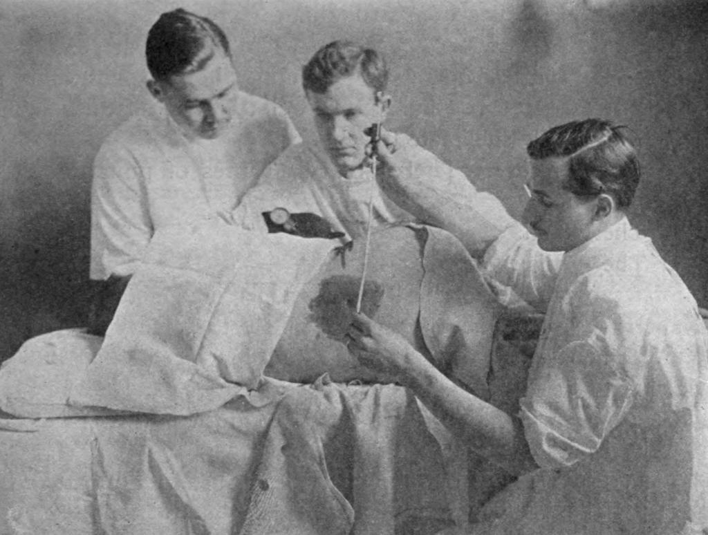 Измерение давления спинномозговой жидкости