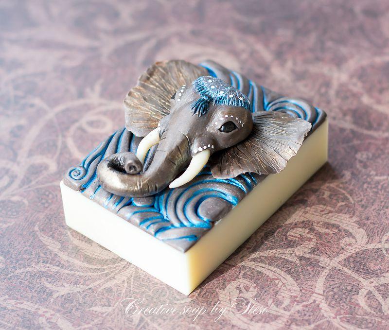 мыло в виде слона