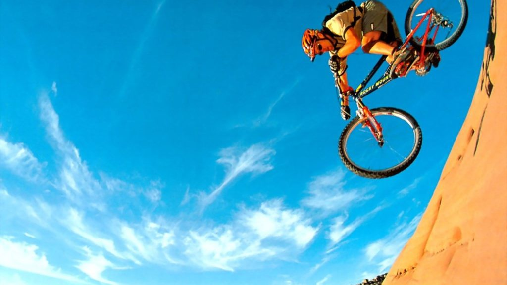 экстрим горный велосипед