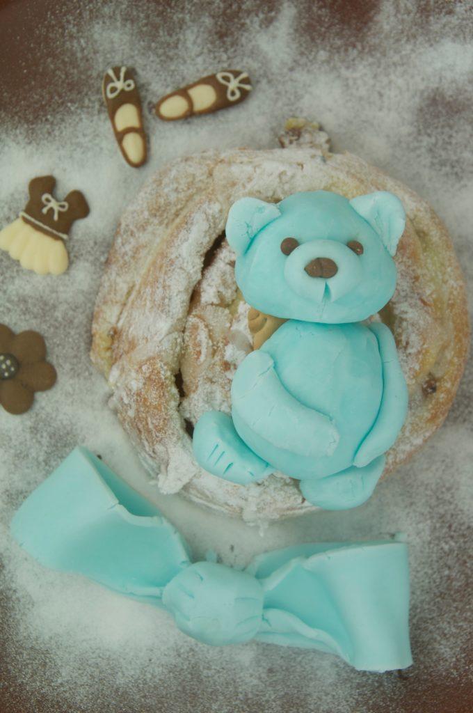 пластилиновый медвежонок