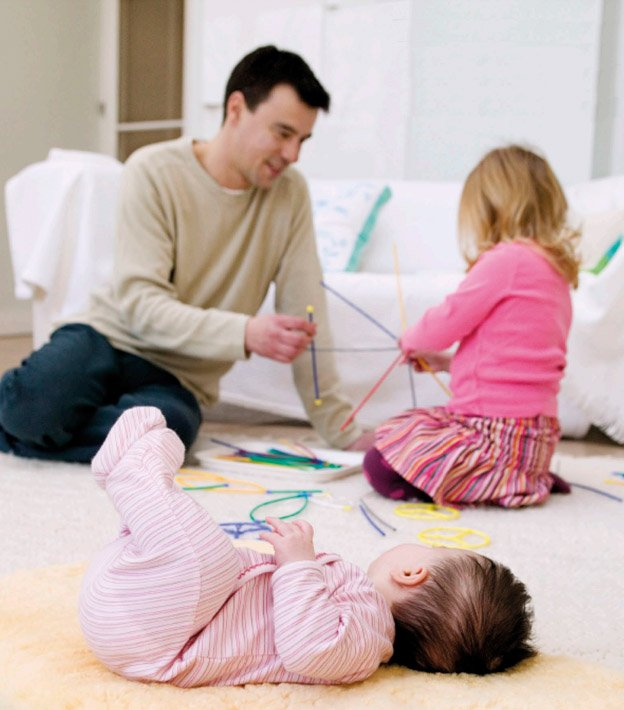 Дети в семье