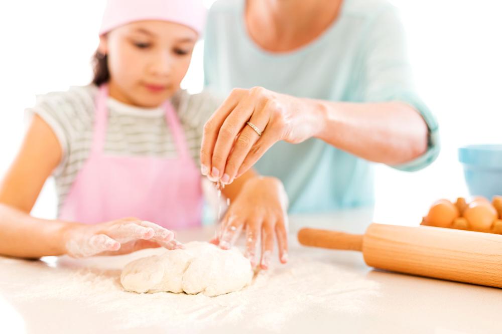 готовить вместе с детьми