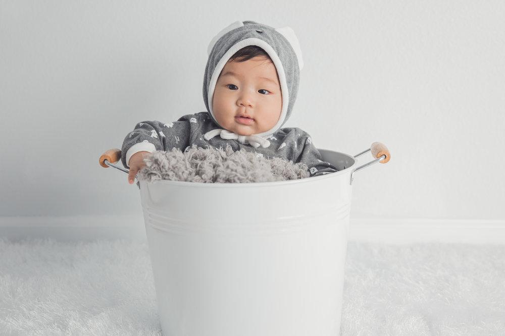 корейский младенец