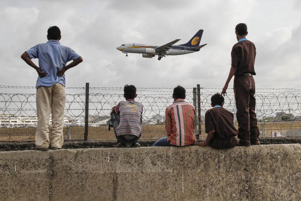 самолет индийских авиалиний