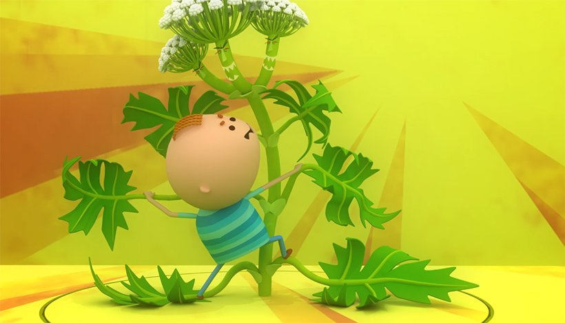 Мультфильм про борщевик