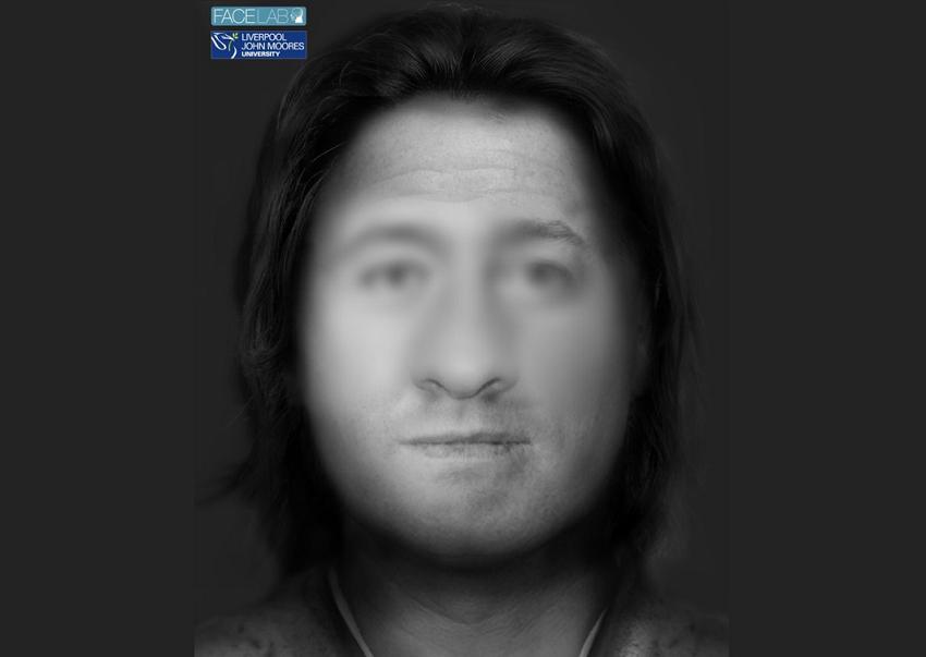 Лицо человека, жившего 4500 лет назад в Англии