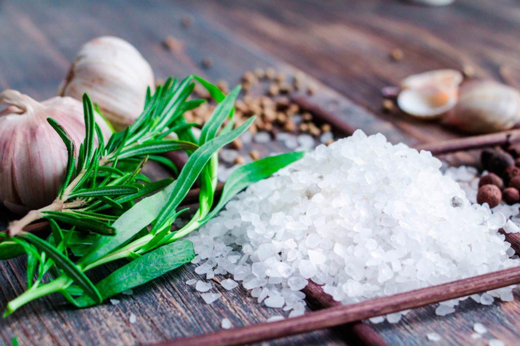 Морская соль в еде