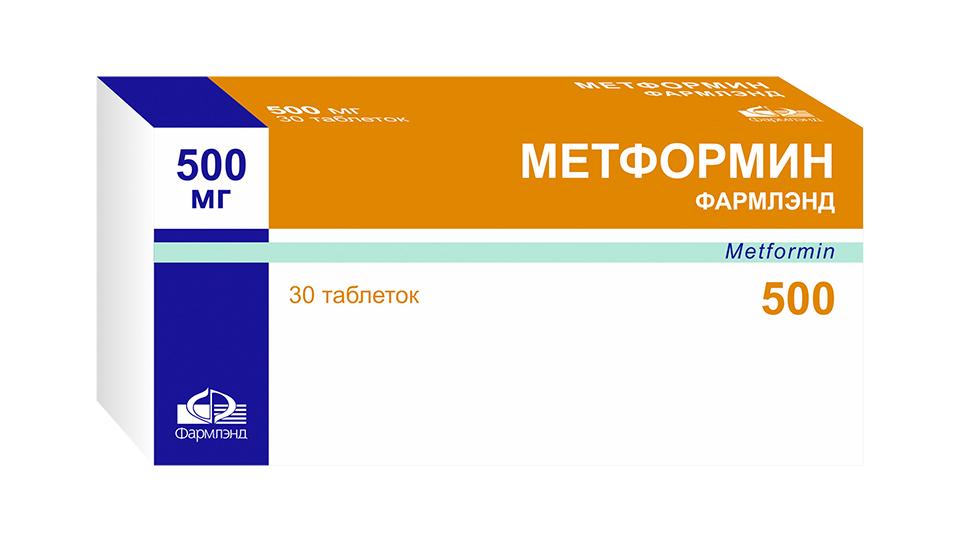 Метформин в таблетках