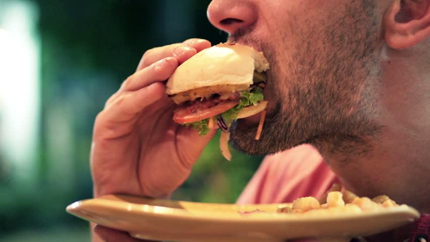 быстрое потребление пищи