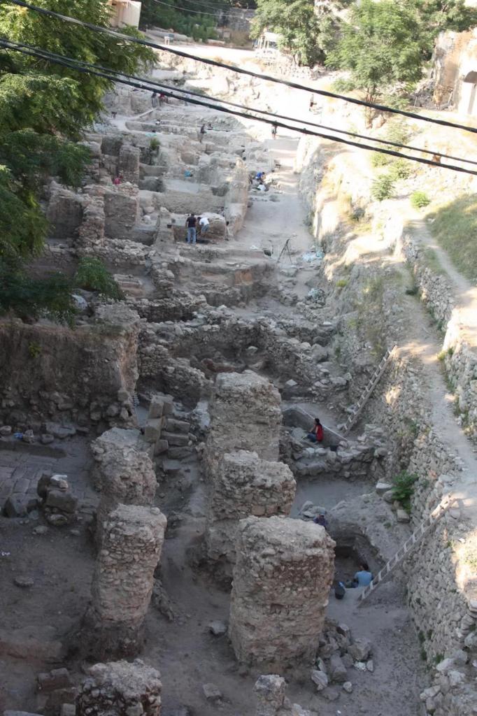 Раскопки Сидона, древнего ханаанского города в том, что сейчас является Ливаном.