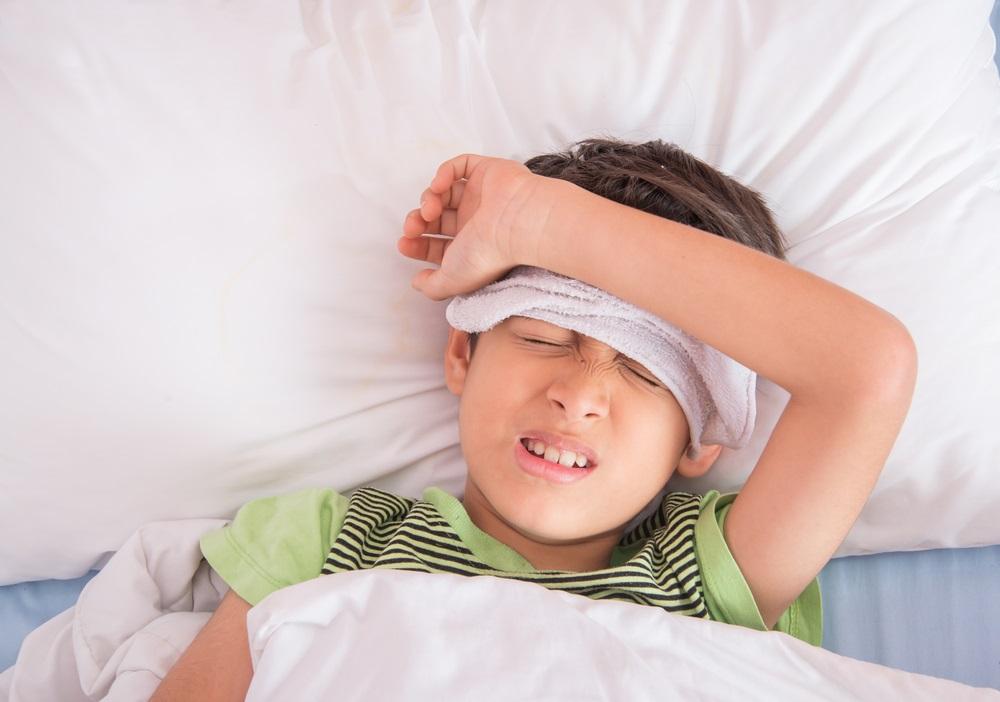 ребенок болеет, постельный режим