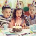 Задувание свечей на день рождения