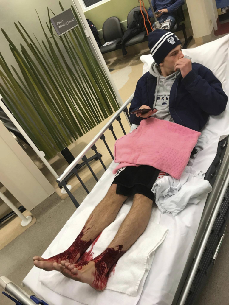 подросток в больнице