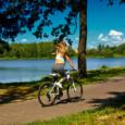 На велосипеде с геморроем
