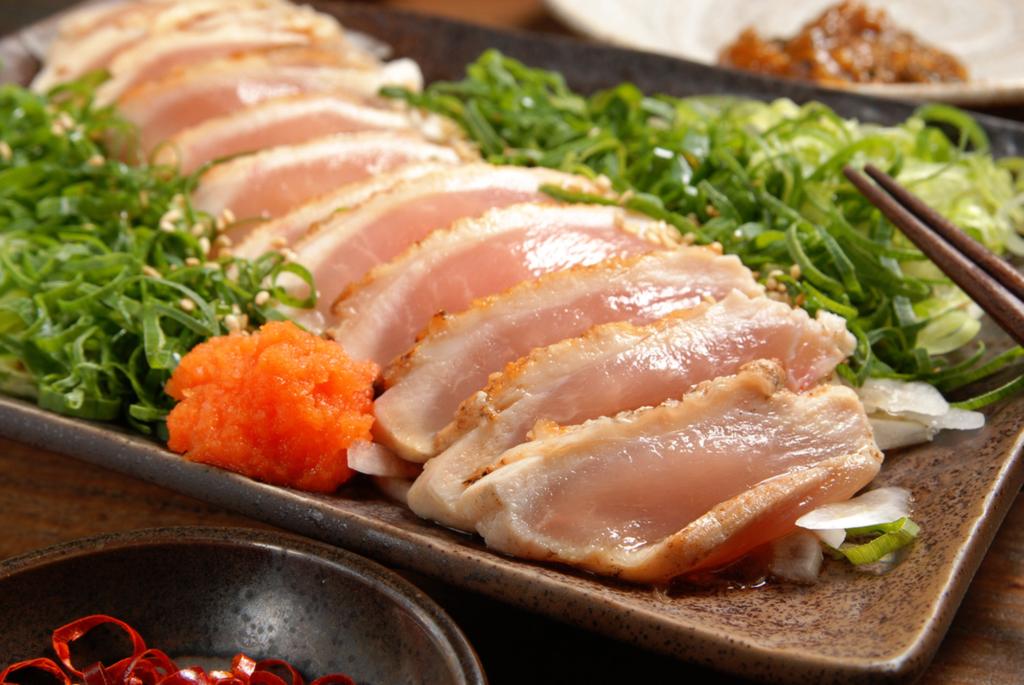Куриный сашими