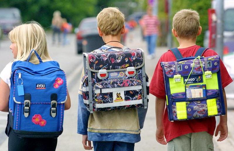 Сколько должен весить школьный ранец