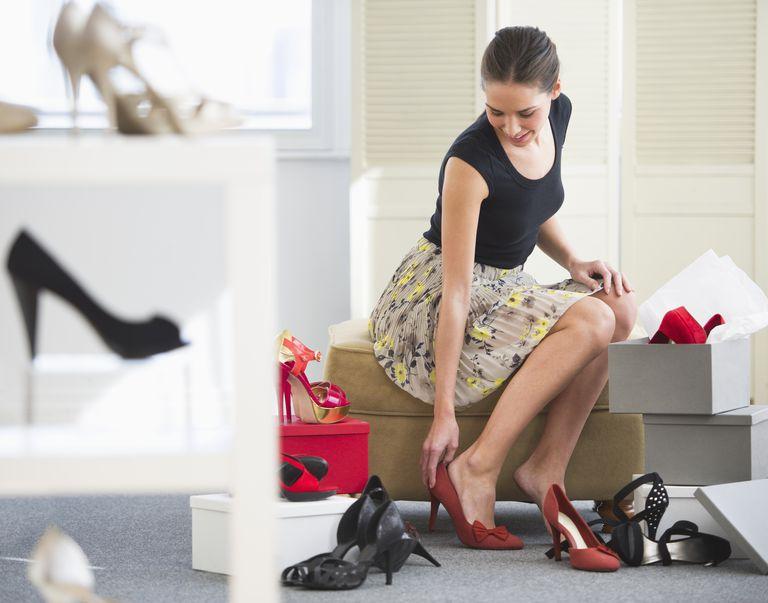 важно носить обувь по размеру